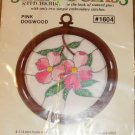 STAINED GLASS PINK DOGWOOD - SIMPLE TO DO- PRETTY