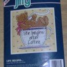 LIFE BEGINS AFTER COFFEE BEAR - BEARY CUTE