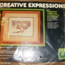 WINTER DEER PICTURE FROM CREATIVE EXPRESSIONS -1984-NIP