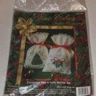 Christmas Tree & Holly Sachet Set-True Colors Ribbon