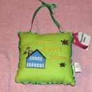 Cute Welcome Doorhanger/Pillow, Home Sweet Home,Sweet
