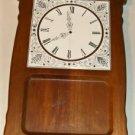 Wooden Cheeseboard with Ceramic Clock Design,Enesco
