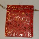 Gold & Red Jewelry Bag -Protect Your Nice Jewelry Items