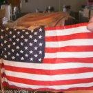 Pledge of Allegiance Wooden Block With Flag - Desk Size