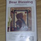 BEAR BLESSING - CUTE WALL HANGING QUILT KIT