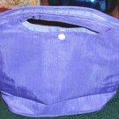 Satin Lavender Clutch Bag, New,  Pretty, Day or Night