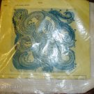 BLUE AND GREEN SWIRLS PILLOW KIT FROM BRANCRAFT - NICE