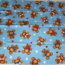 Butterfly & Bear Fabric Pieces Tapestry Heart Teddy Bea
