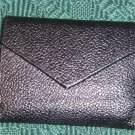 Small Black Credit Card Case - Holds 12- 24 Cards