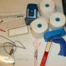 Miscellaneous Lot of Office Supplies,Index Pages, Tape