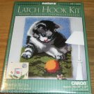 SWEET PLAYFUL KITTEN LATCH HOOK RUG KIT - ADORABLE