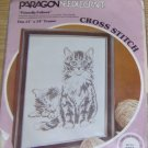 FRIENDLY FELINES KITTEN PICTURE FROM PARAGON- VINTAGE