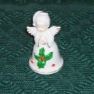 Praying Angel with Mistletoe, Sweet Holiday Bell