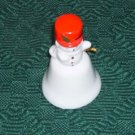 Snowman Bell with A Red Hat, Festive, Great Holiday Dec