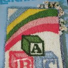 ABC BLOCKS WALL HANGING/RUG  KIT FROM BETTY WILKINSON