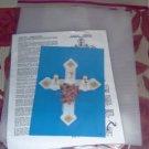 PRETTY ANGEL CROSS DECORATION