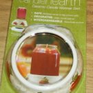Candle Hearth Ceramic Candle Warmer Skirt,NIP,Apples