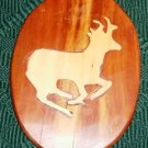 Cute Small Deer Picture - Great For in a  Den -Handmade
