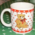 Bear & Hearts,Adorable Coffee Cup,Valentines Day,Anytim