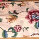 Floral Curtain Topper, Pretty Addition in Kitchen or LR