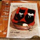 KIT & KAT PHENTEX HOOK & HANG WALL HANGING/MURAL/PILLOW
