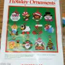 DIMENSIONS PRE CUT HOLIDAY ORNAMENTS - NIP= FESTIVE