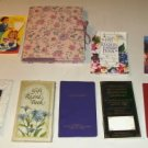 Gift Record Book, Address Books,Agenda Book, and Poetry