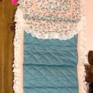 PRETTY LACY GIFT WRAP HOLDER