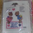 YOU ARE BEARY SPECIAL HEART WALL HANGING -SWEET