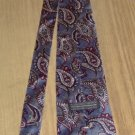 BLUE & GRAY PAISLEY TIE FROM ALLYN SAINT GEORGE