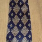 BLUE AND TAN PAISLEY TIE FROM ALLYN SAINT GEORGE