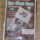 CHARLES CRAFT CABBAGE ROSE EYEGLASS CASE 5