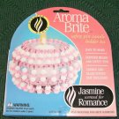 AROMABRITE SAFETY PIN CANDLE HOLDER KIT PINK SCENTED JASMINE FOR ROMANCE