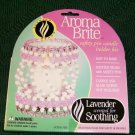 AROMABRITE SAFETY PIN CANDLE HOLDER KIT SCENTED LAVENDER FOR SOOTHING