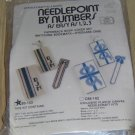 PAPERBACK BOOK COVER SET FROM NEEDLEPOINT BY NUMBERS