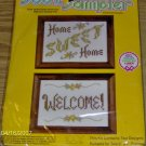 WELCOME/HOME SWEET HOME SAMPLER PAIR FROM SOOZ SAMPLER