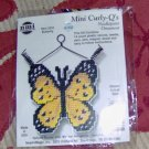 PRETTY BUTTERFLY CURLY Q ORNAMENT