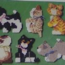 ADORABLE KITTEN MAGNETS FROM STUDIO M - IRRESISTABLE