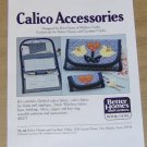 BLUE CALICO ACCESSORIES KIT FROM B H & G - PRETTY