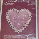 HEARTS & FLOWERS PRETTY PINK PILLOW KIT FROM NEEDLEMAGI