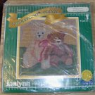 TEDDY FRIENDS NEEDLEPOINT PICTURE FROM JANLYNN -NIP