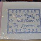 LOVE WILL FLOWER FOREVER SAMPLER -NEW