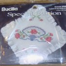 FAN PILLOW KIT FROM BUCILLA - NEW IN PACKAGE - PRETTY