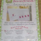 SUSAN BRANCH NO PLACE LIKE HOME GUEST TOWELS - SO CUTE