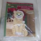 NEEDLECRAFT SHOP CHRISTMAS KITTY DOORSTOP