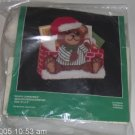 BUCILLA BEARY CHRISTMAS MAILHOLDER/DOORSTOP