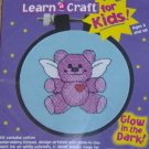 DIMENSIONS KIDS LEARN A CRAFT GLOW IN THE DARK BEAR