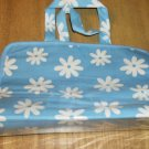 BLUE DAISY LINGERIE OR MAKEUP BAG