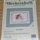 WEEKENDERS CUTE KITTY WITH FLOWERS KIT, WONDERMENT