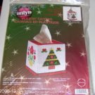 JANLYNN COUNTRY CHRISTMAS TISSUE BOX COVER